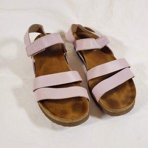 NAOT Kayla Wedge Sandals 41 10 10.5 Light Purple